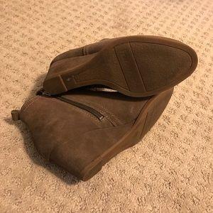 Franco Sarto Shoes - Franco Sarto Suede Wedge Booties